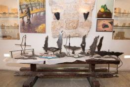 מיצג ארץ ישראל בגלריה של אורית קוטאי