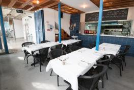 צילום של המסעדה מבפנים - מסעדת הדייגים הכשרה