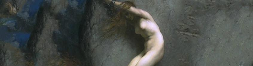 תמונה מיתולוגיה יוונית - פראסוס מציל את אנדרומדה ממפלצת ים