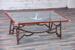 שולחן מעוצב בסגנון ימאי - מוטי נטף