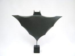 באטמן בתערוכת גיבורי נייר
