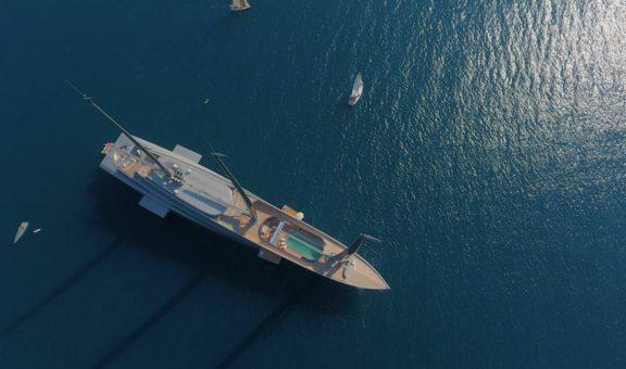 סירה בלב ים