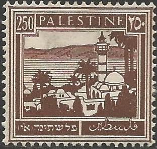 המגדלור בבול המנדט 1936