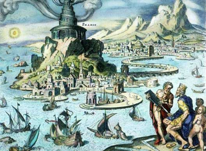 ציור של מרטין המסקרק מ- (Martin Heemskerck) 1572