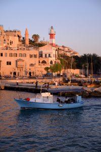 המגדלור בנמל יפו. צילום: חיים יפים ברבלט