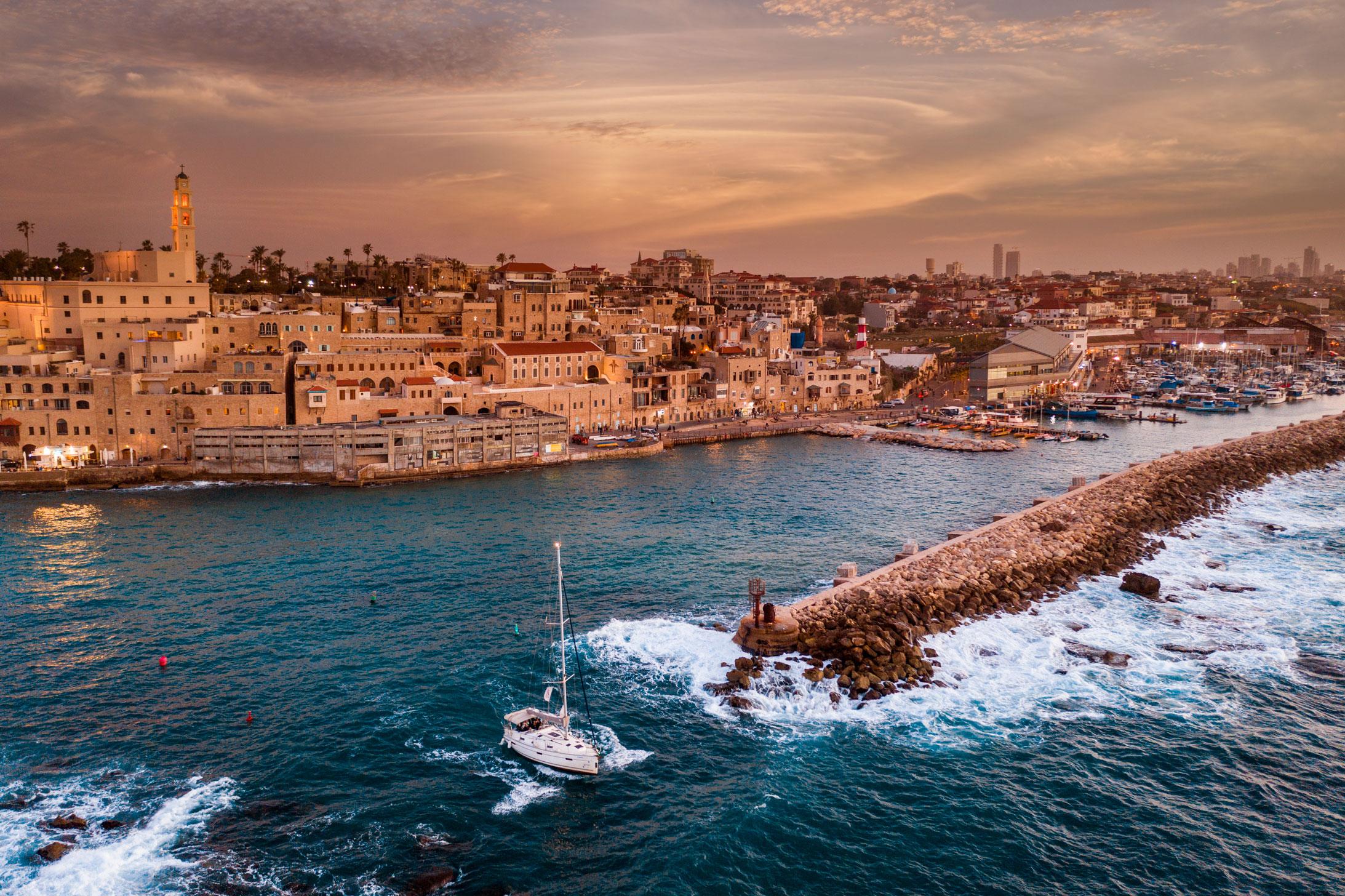 תמונת נוף נמל יפו