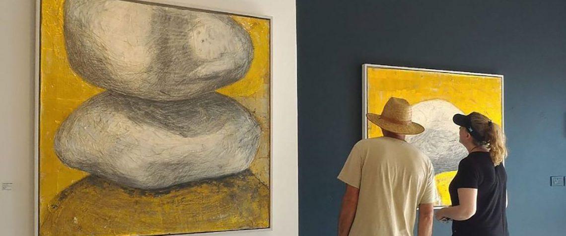 ציור מתוך תערוכה של תמר בלום צידון